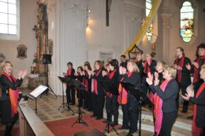 Hohengebraching JohannesSingers Gospelkonzert 2013 in Aktion 1